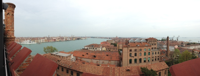 Venice from the Molino Stucky